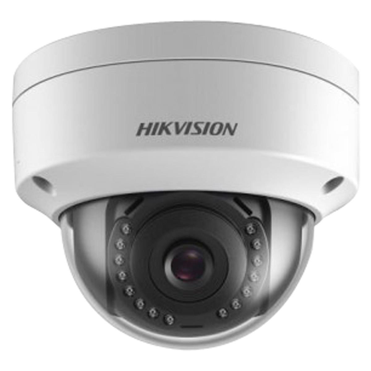CAMERA IP DOME 2MP DS-2CD1121-I 2,8MM POE – IK10 – HIKVISION – EASY IP